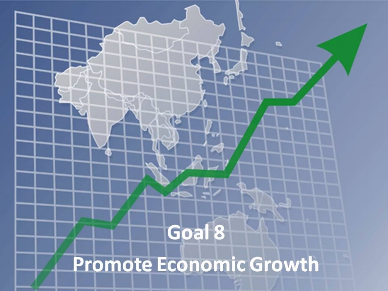 goal 8 promote economic growth decent work business for 2030