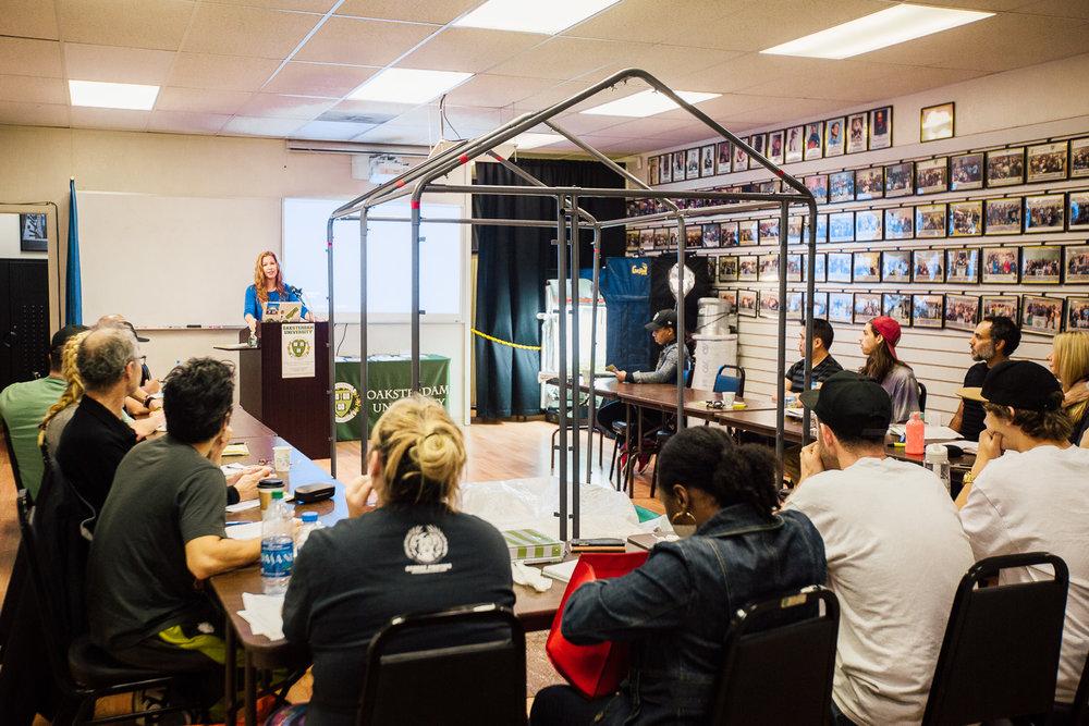 Teaching at the Oaksterdam University