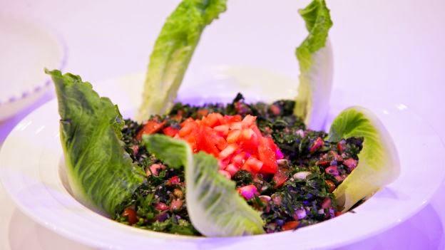 Taboulé libanais - Salade de persil