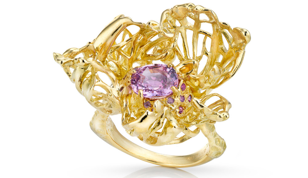 1000 Autumns - a showpiece ring