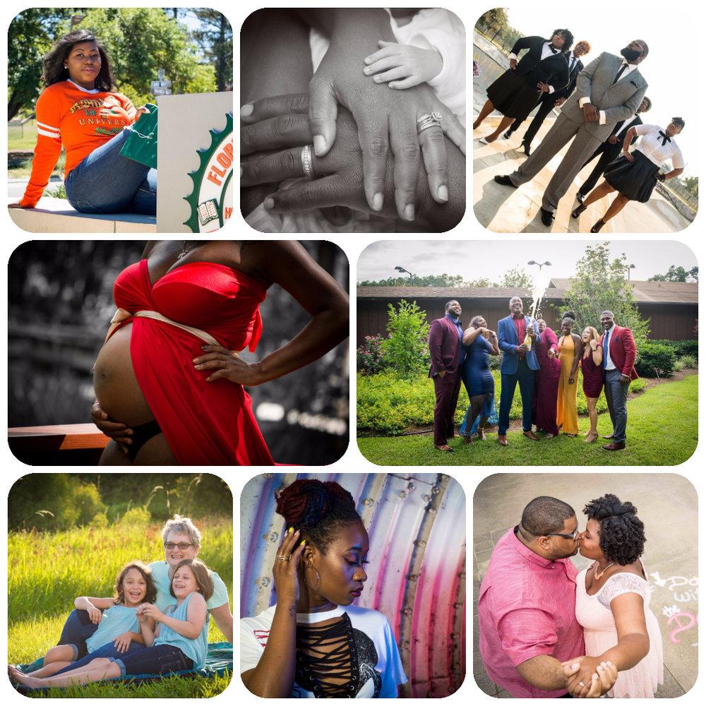 Portraits - Engagement, Maternity, Grad, Events, Head-Shots, Groups, Lifestlye, Boudoir