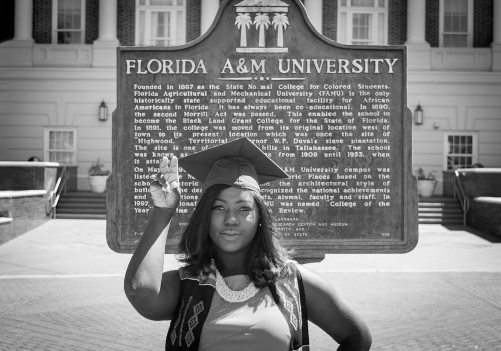 Shaperlya - FAMU Grad/Senior Cap & GownWhen I first set eyes on the website I knew that I wanted to book with Ausbee and Sherona. Everything was beautifully laid out, and looked so professional, yet simple. Another thing I loved was that on my session day they both made me feel extremely beautiful and helped ease my nervousness, the final product came out so amazing. I would without a doubt recommend them to anyone who's looking for beautiful photos, great people, and outstanding professionalism. I'm so grateful that they turned my occasion into a beautifully and professionally designed memory! Thanks again guys :).View More Grad/Senior (click here)