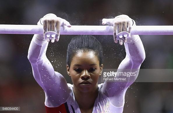Focused. Game face. Go Gabby!!