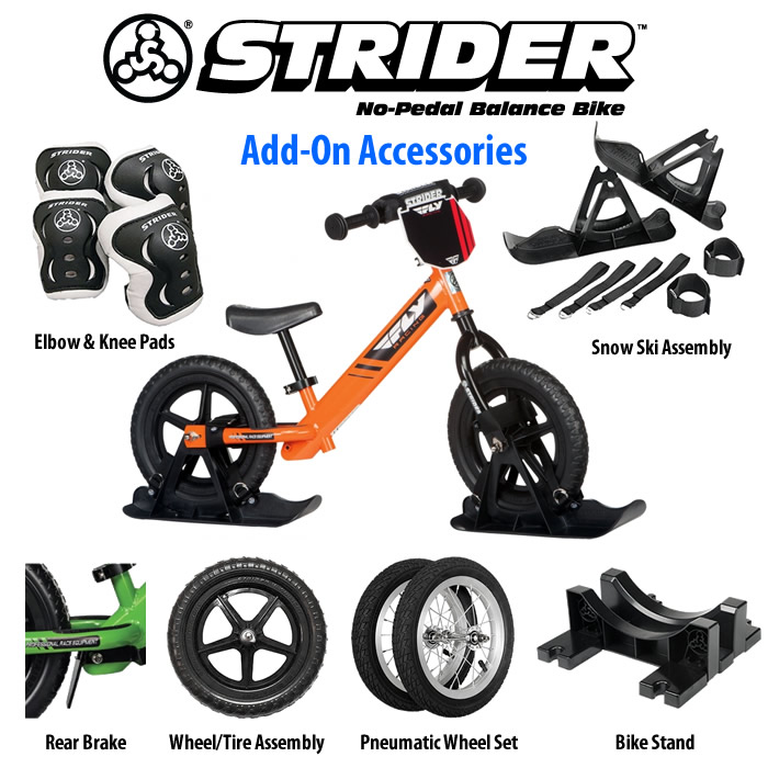beee33be050d Strider Bikes Accessories — Ti Dezigns