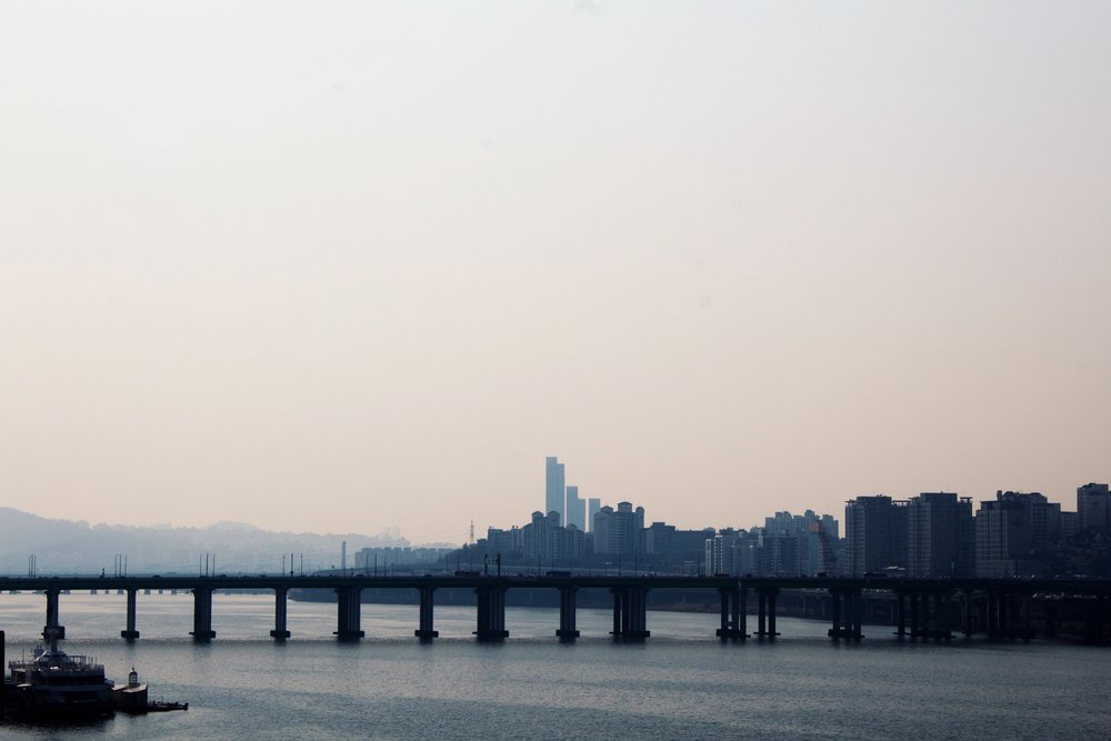 View of the skyline from Han River