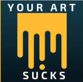 Your Art Sucks Podcast was started with the intention of helping artists create better art. To do this, each episode focuses on legendary, and unknown artists, reviews their lives to uncover opportunities we, the artist, have to gain from their successes or failures. By learning what works and what doesn't, we can improve our processes and, hopefully, create better art.