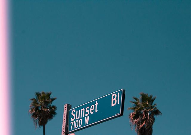 The sun shines a little bit brighter on Sunset Boulevard ✨💖