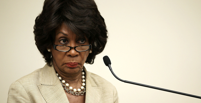 Maxine Waters Said: 'I will not work with the president
