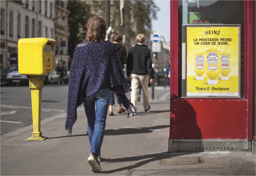 French market leader in pedestrian formats: print urban display advertising…