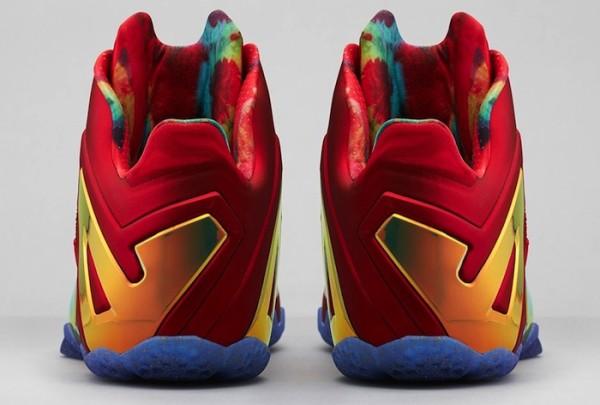 Nike-LeBron-11-Elite-Red-Gold-4
