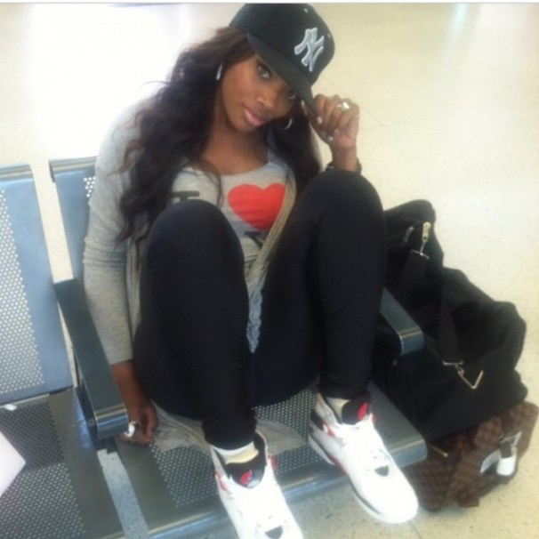Yandy Smith. Air Jordan 8