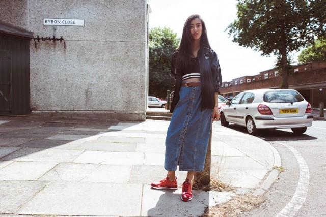 f9d3ab9f4acdf Snaps  Reebok Classic Takes To The Streets Of London For Fall Winter ...