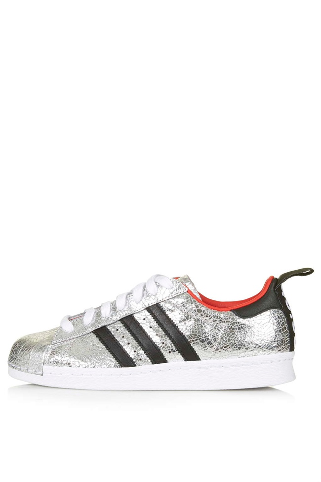 Premium Superstar '80s Trainers by Topshop for adidas Originals   available for $170.00