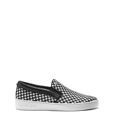Keaton Houndstooth Slip-On, $94.50, available at  Michael Kor s