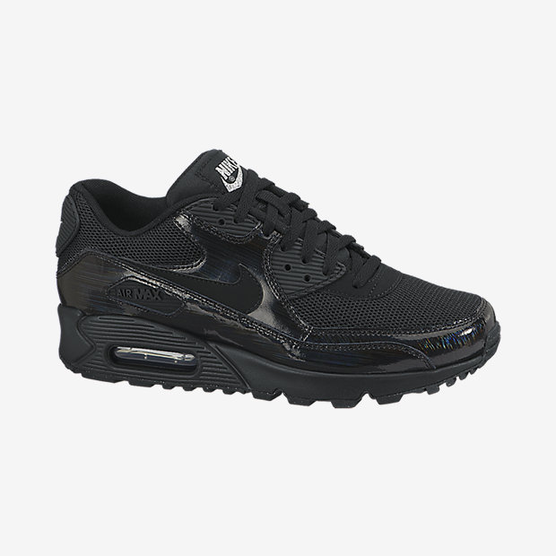 Air Max 90 Premium in Black, $120.00, available at  Nik e