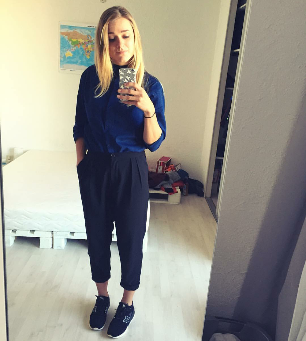 #ChicksNKicks Chick Of The Day: @lisannedewitte x New Balance 620