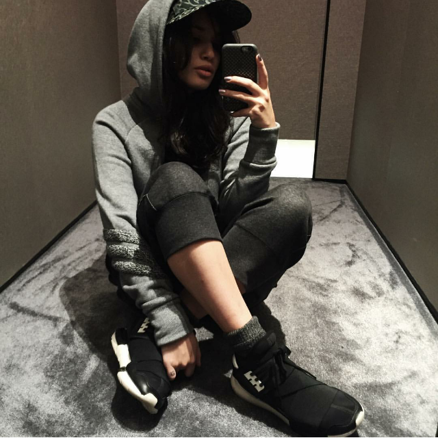 #ChicksNKicks Chick Of The Day:  @shellyisabel  x  adidas Y-3 Qasa