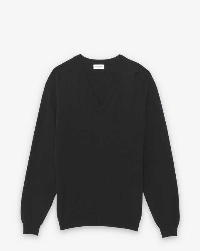 YSL Classic V-Neck Sweater -  Shop Here