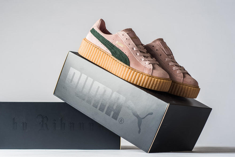 a9ed01df56 FENTY Puma Creeper  PinkxGreen  -  120 Purchase Here