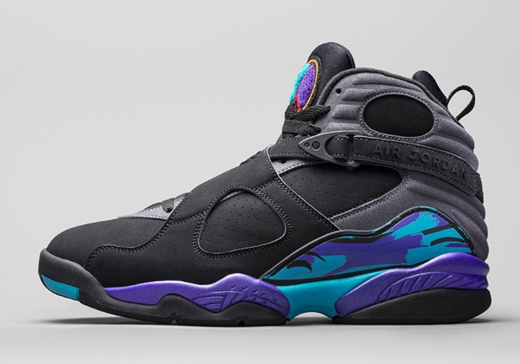 "Air Jordan 8 ""Aqua"" Style Code: 305381-025 Release Date: November 27th, 2015 Price: $190 (Adult); $140 (GS)"