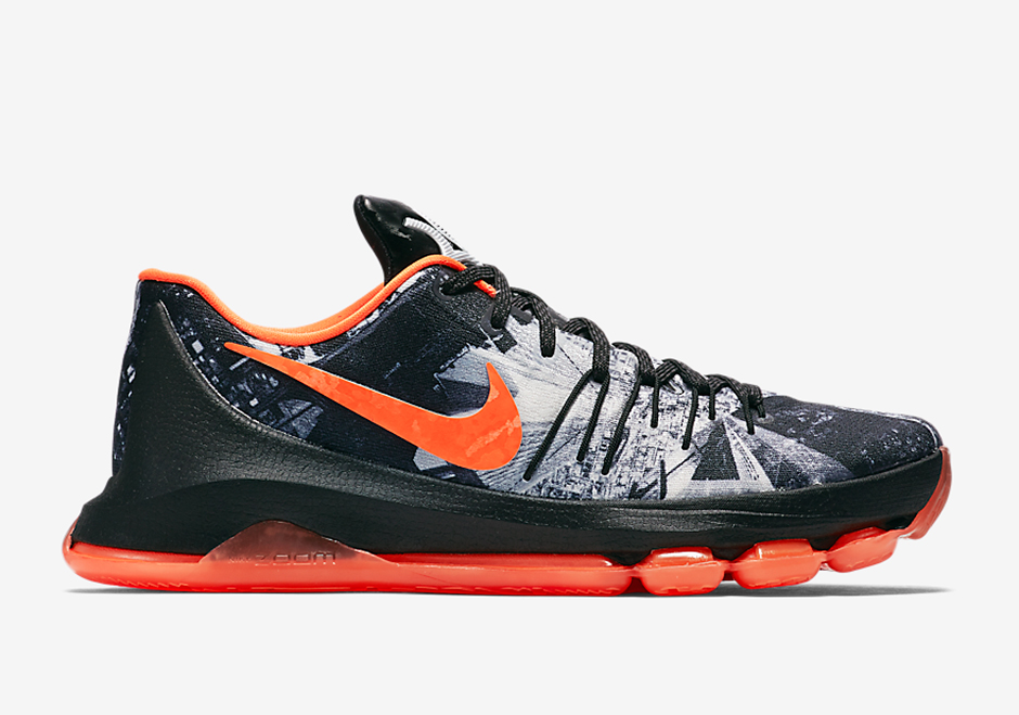 "NIKE KD 8 ""OPENING NIGHT"" Style Code: 822888-081 Release Date: November 27th, 2015 Price: $180"