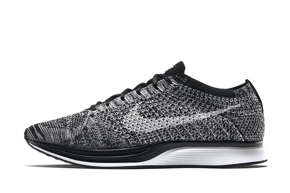 NIKE FLYKNIT RACER 'OREO 2.0'  - Style Code:  526628-012   Release Date: November 26th, 2015  - Price $150