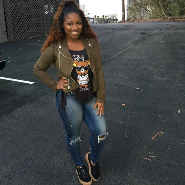 How cute is Reginae Carter!? Lil Wayne's Princess got ready to celebrate another birthday in a pair of Rihanna x Puma 'Creepers.'