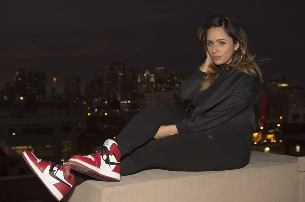 #ChicksNKicks Chick Of The Day: @itsgabbydiaz x Air Jordan 1 Retro OG 'Chicago'
