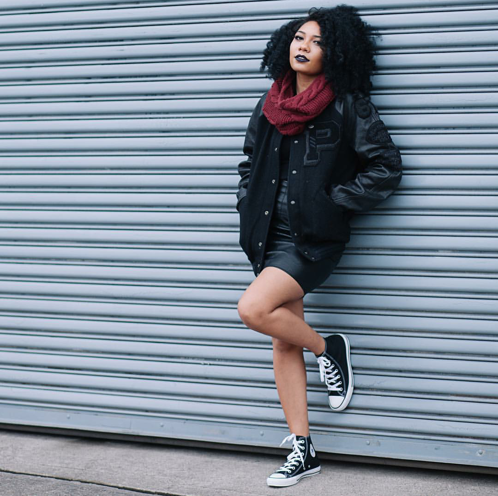 #ChicksNKicks Chick Of The Day: @heygorjess x Converse Chuck Taylor All-Star High