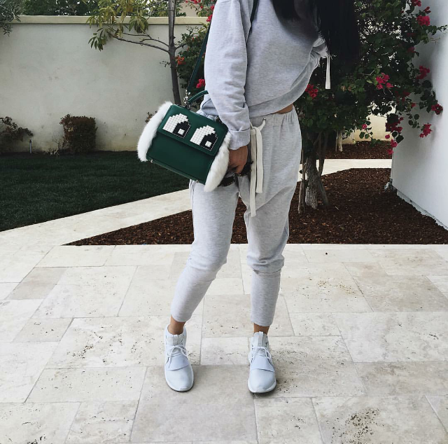 brand new 87657 c84ed ... usa sneakher style kylie jenner in dior le petits joueurs x adidas  u2014 cnk dailychicksnkicks af73c