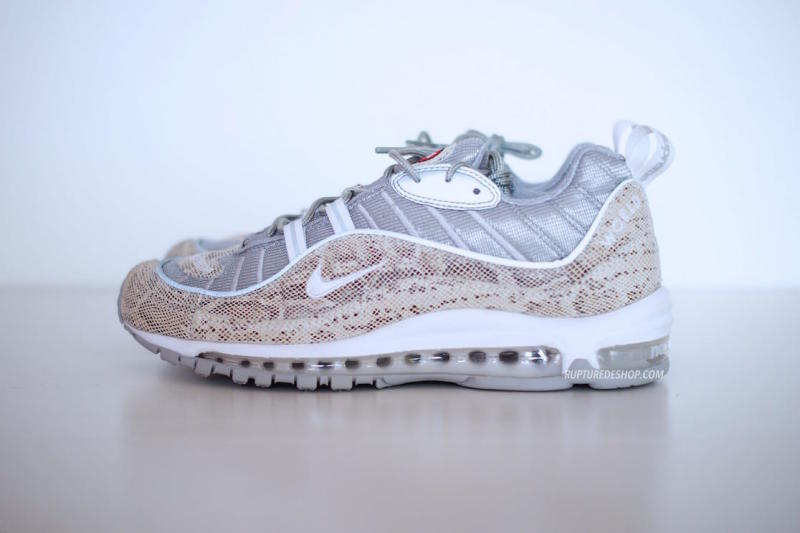 hot sale online 90035 4a916 Cop or Can  Check Out The Supreme x Nike Air Max 98 Pack