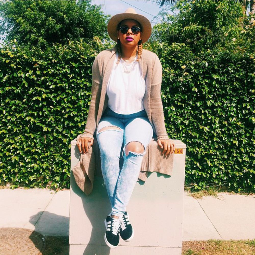 #ChicksNKicks Chick Of The Day: @heatheeeer x adidas Gazelle
