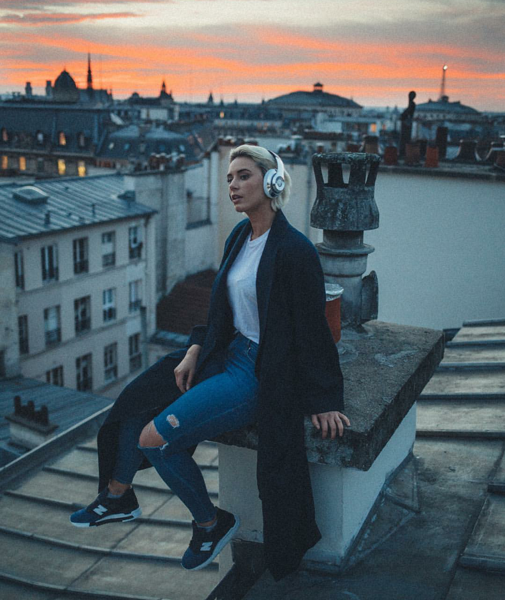 "#ChicksNKicks Chick Of The Day: @yesjulz in Ronnie Fieg x New Balance 998 ""City Never Sleeps."""