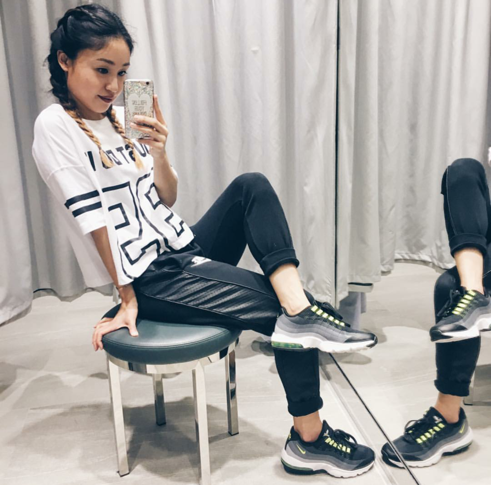 #ChicksNKicks Chick Of The Day: @jens_lo x Nike Women Air Max 95 Ultra