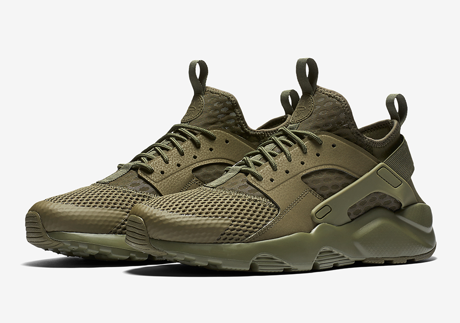 cheap for discount f3a35 66bfb Cop or Can Nike Air Huarache Ultra Military Green