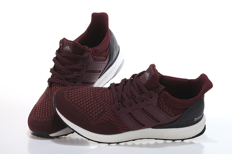 Riana's Pick:  adidas Ultra Boost  (shown: maroon/black)