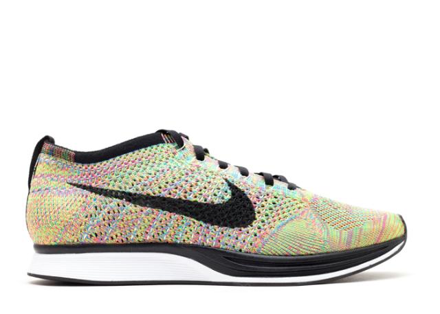 Riana's Pick:  Nike Flyknit Racer Multicolor