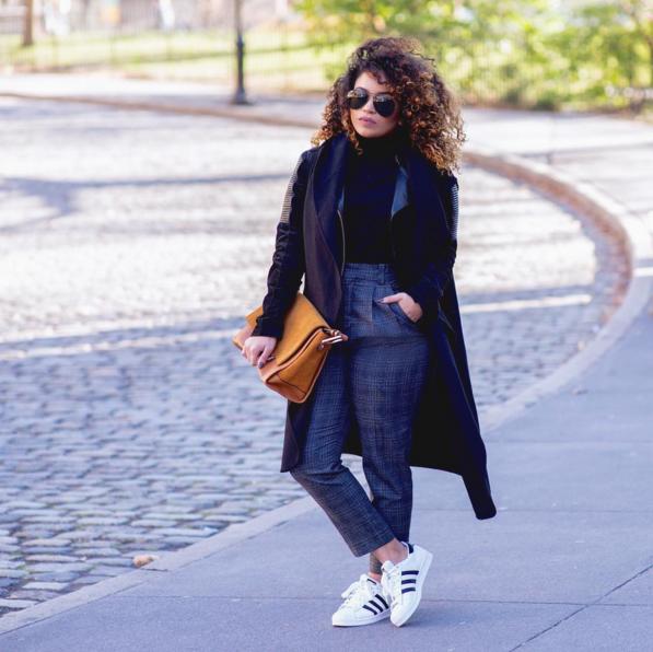 #ChicksNKicks Chick Of The Day: @brooklynpetite x adidas Originals Superstar