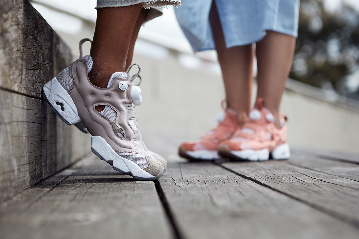 For The Ladies  size  x Reebok Go Natural With New Instapump Fury Collab 1d3142e3f