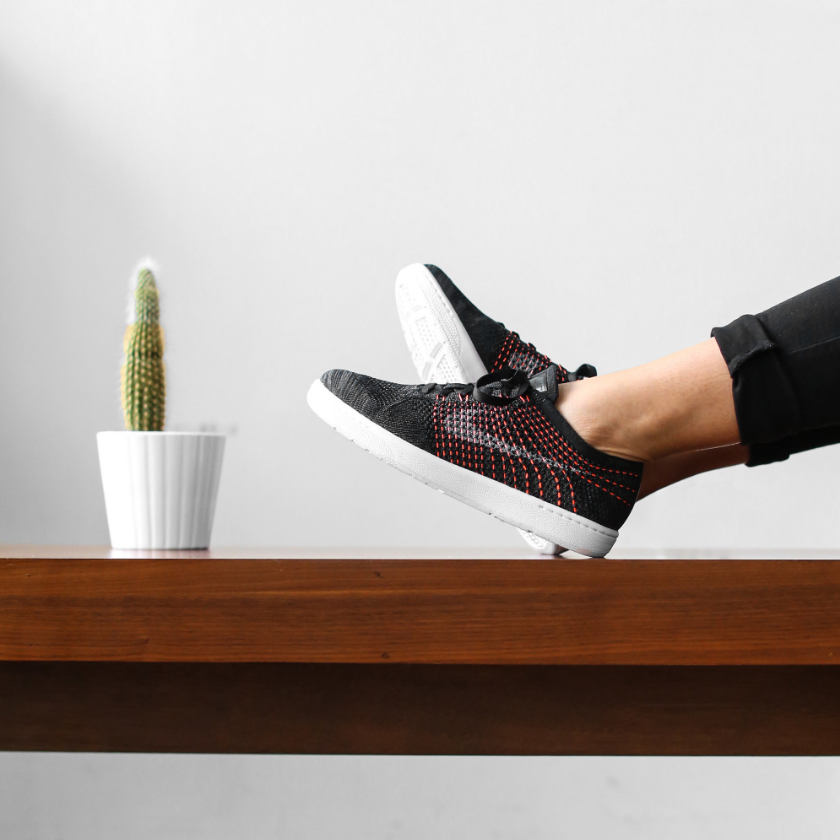 Nike WMNS Tennis Classic Ultra Flyknit  (black/anthracite/white) - $150 USD -Image: Centre