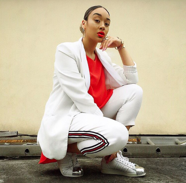#ChicksNKicks Chick Of The Day: @whoscolejay x adidas Superstar 80s Metal Toe