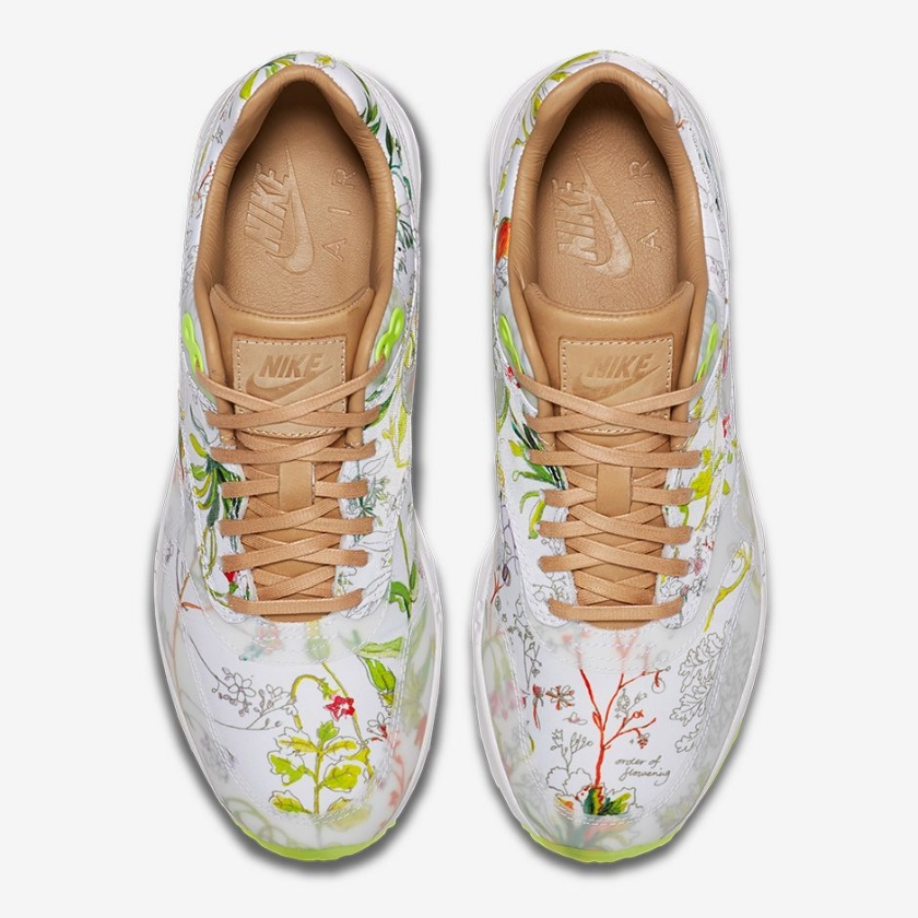 Nike WMNS Air Max 1 Ultra Liberty: $135 USD White/Vachetta Tan/Volt/White 844135-100