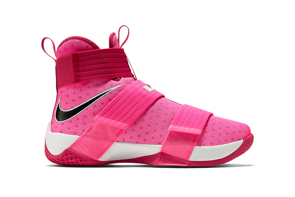 7f1d656c6ed3 Nike and LeBron Remember Cancer Survivors With The Soldier 10  Think ...