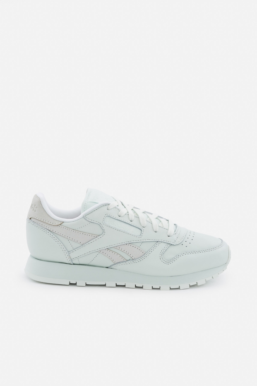Pretty pastels are always a win.    Reebok x FACE Stockholm Classic Leather Spirit   Sneakers,  $70  $49, available at   Opening Ceremony  .