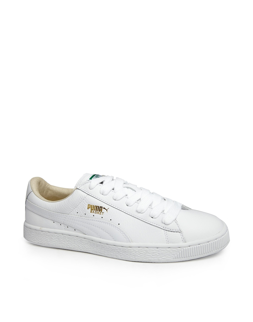 White on white sneakers? That's the definition of summer.    Puma Basket Classic Croc (Men's),  $75  $45, available at  PUMA.com .