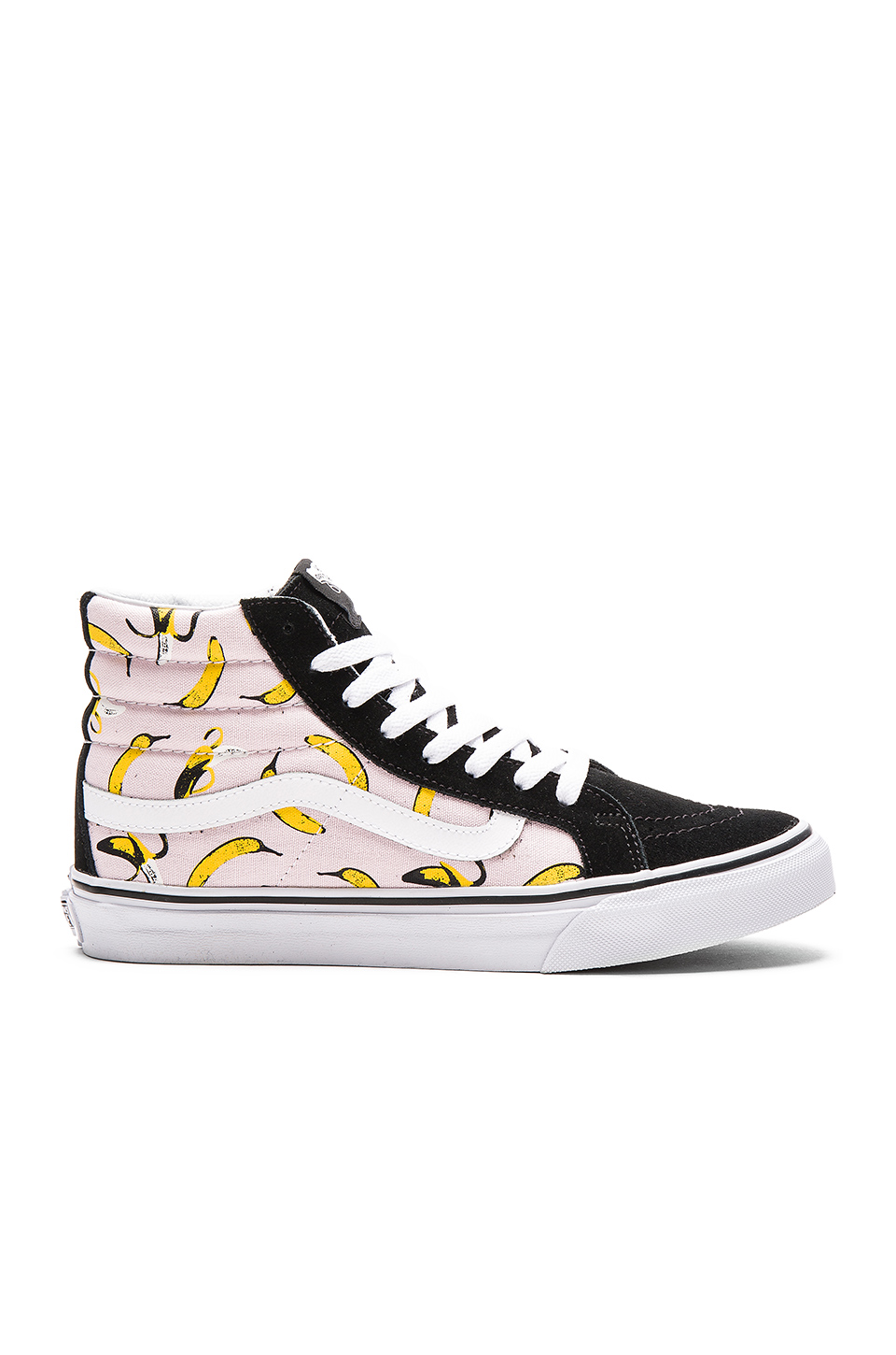 Classic Vans. Promise you won't slip.    Vans Sk8-Hi 'Banana'  $75  $56, available at  Zappos .