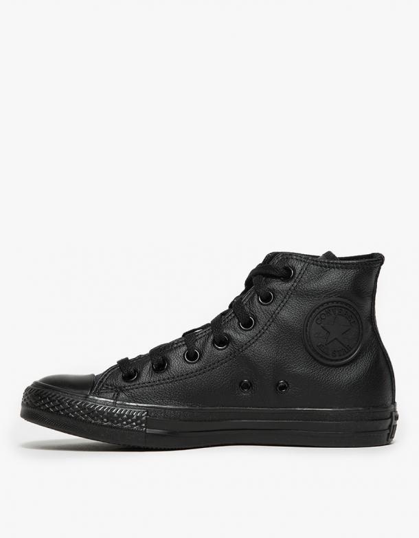 Because black Converse = must have item.    Converse All Star High Black Monochrome,  $70  $82, available at  NeedSupplyCo .