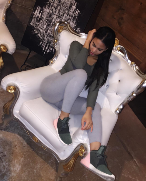#ChicksNKicks Chick of the Day: @snowydwhite x adidas Tubular Defiant