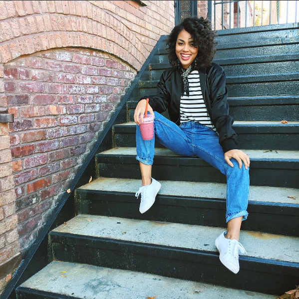 #ChicksNKicks Chick Of The Day: @ericalave x Superga Cotu Classic Sneakers