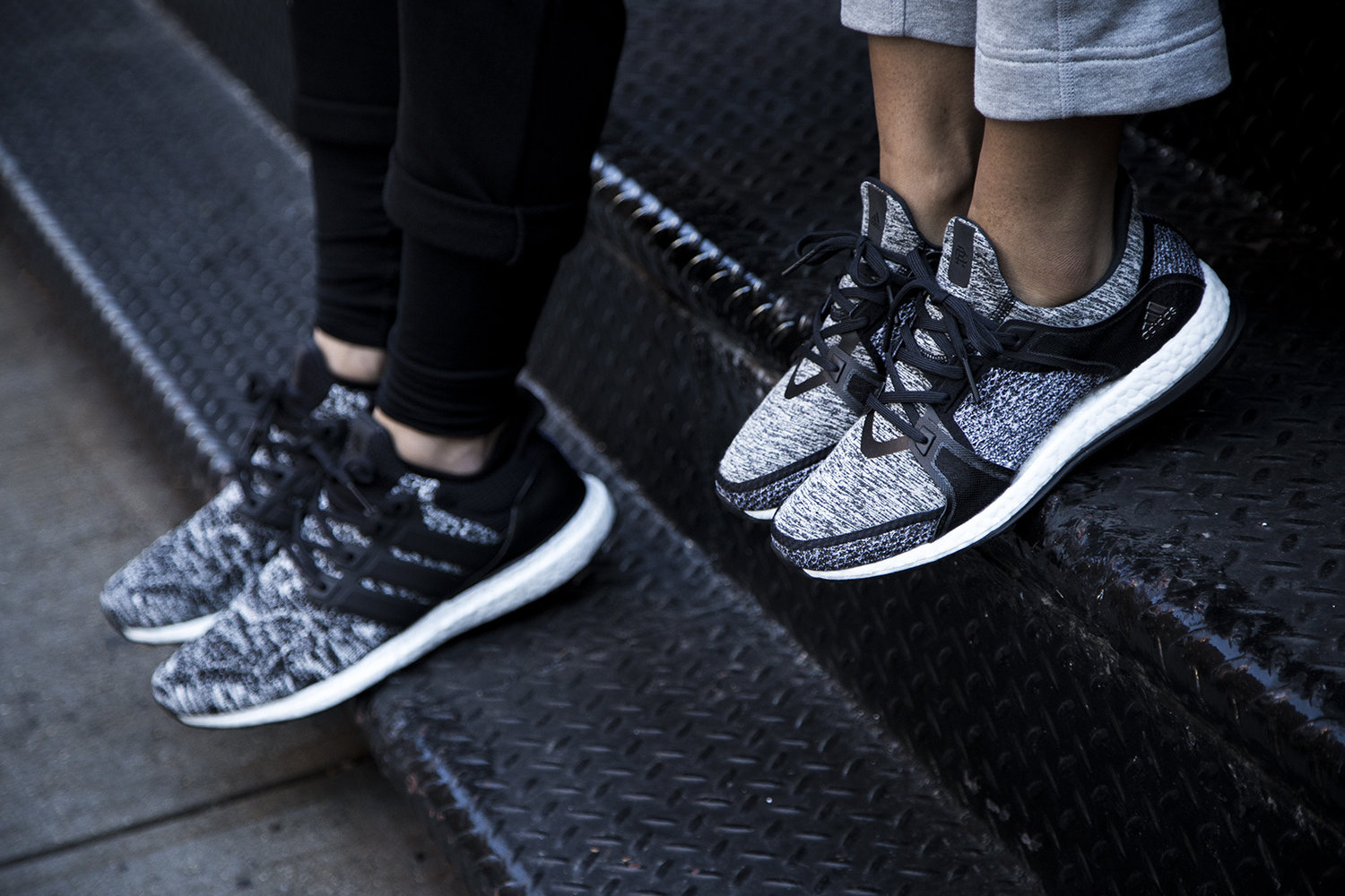 hot sale online 68229 f0c64 All Eyes On The Adidas x Reigning Champ PureBOOST X Trainer